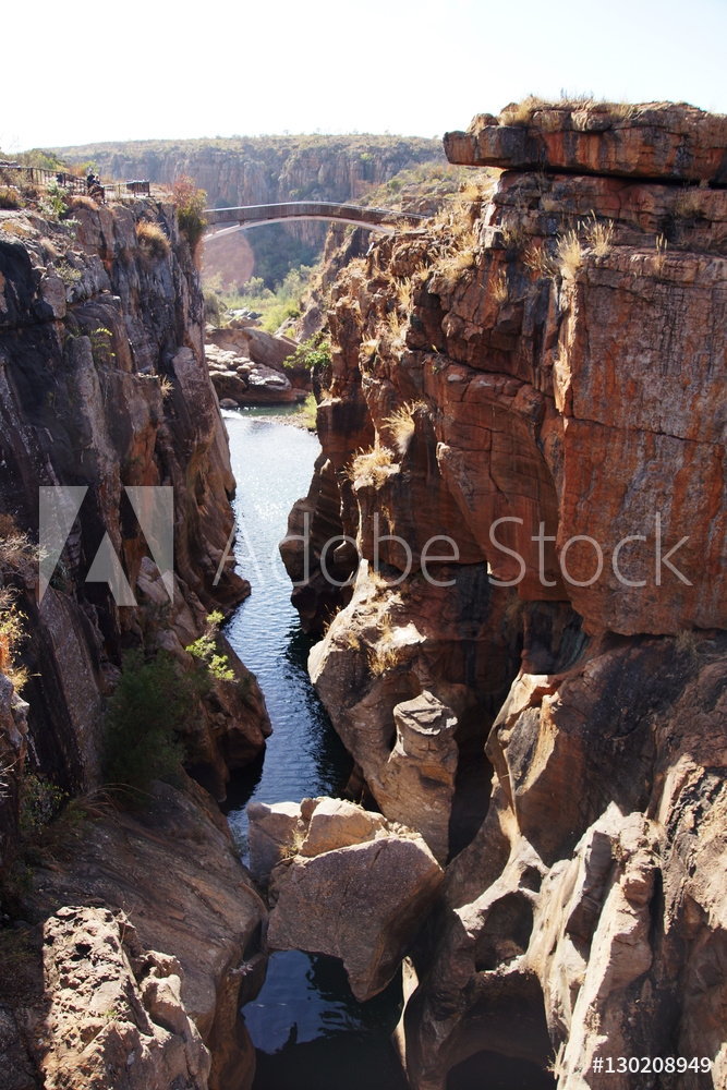 Bild på canyon of the river Blyde, South Africa