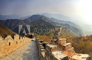 Bild på China Great Wall Down Distant