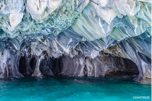 Bild på Marble Caves of lake General Carrera (Chile)