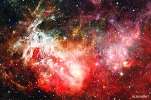 Bild på Beautiful nebula and Galaxy. Elements of this Image Furnished by NASA