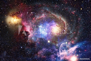 Bild på Galaxy and Nebula. Abstract space background. Elements of this image furnished by NASA