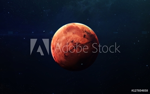Bild på Mars - High resolution beautiful art presents planet of the solar system. This image elements furnished by NASA