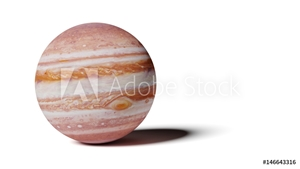 Bild på planet Jupiter isolated on white background